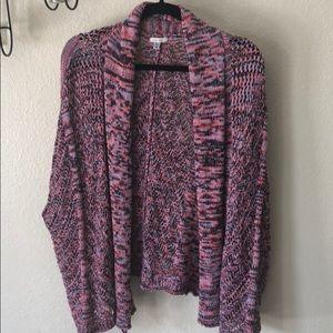 Ecote Oversized Sleeveless cardigan sweater XS